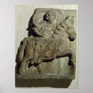 Soulagement d'Epona, déesse gauloise Poster