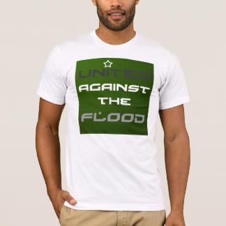 Soulagement d'inondation du Pakistan - option unie T-shirt