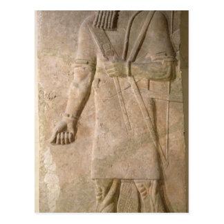 Soulagement d'un guerrier assyrien cartes postales