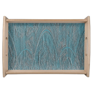 Soulagement magique bleu d'Ornamental de forêt Plateaux