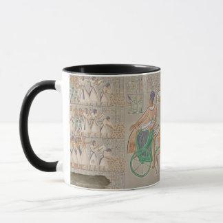 Soulagements bas colorés de la galerie du sud du mug