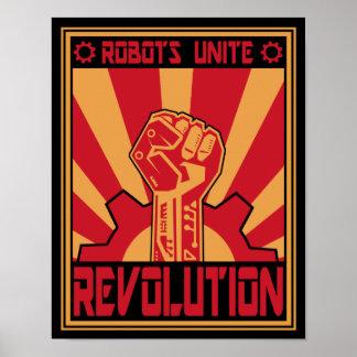Soulèvement de robot posters