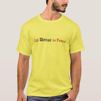 Soulevez Detroit dans la prière T-shirt
