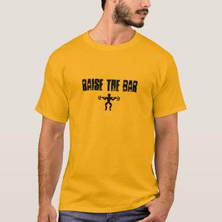 Soulevez la barre t-shirt
