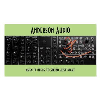 Soundstage, ingénierie audio, réparation de carte de visite standard