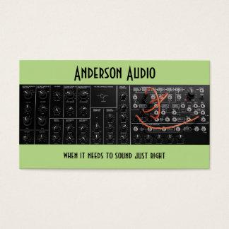 Soundstage, ingénierie audio, réparation de cartes de visite