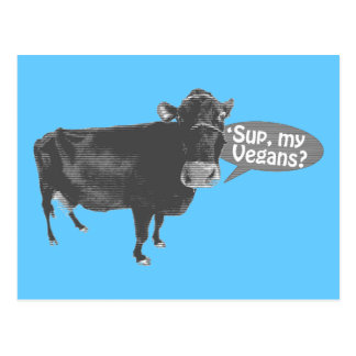 'soupez mes végétaliens cartes postales