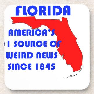 Source de la Floride #1 pour de nouvelles étranges Dessous-de-verre