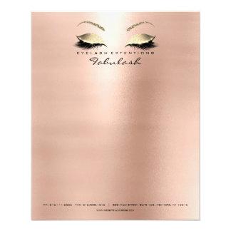 Sourcils maigres de styliste de maquillage de prospectus 11,4 cm x 14,2 cm