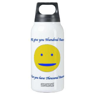 Sourire à la vie bouteilles isotherme
