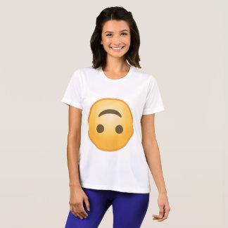 Sourire à l'envers Emoji T-shirt