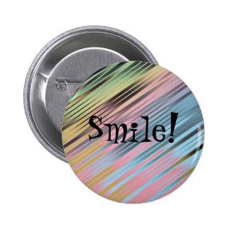 Sourire ! badge rond 5 cm
