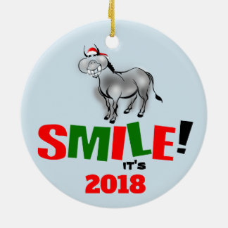 Sourire c'est ornement de sourire drôle de l'âne