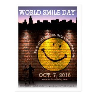 Sourire Day® du monde 2016 cartes postales