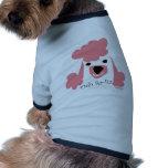Sourire de caniche vêtement pour animal domestique