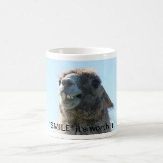 """""""Sourire"""" il le vaut ! Mug"""