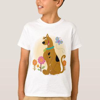Sourire ouvert par bouche de Scooby T-shirt