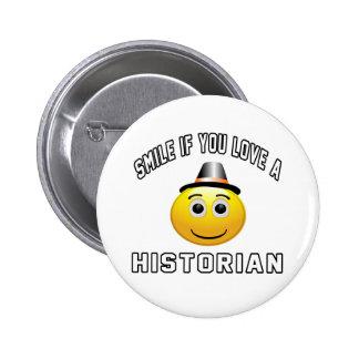 sourire si vous aimez un historien pin's