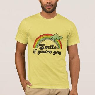 SOURIRE SI VOUS êtes GAIS T-shirt
