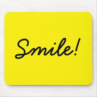 Sourire ! tapis de souris