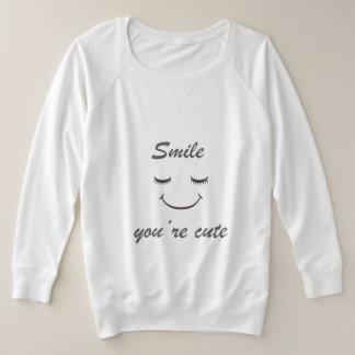sourire vous êtes sueur mignonne