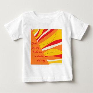 sourire vous pouvez être le soleil dans quelqu'un t-shirt pour bébé