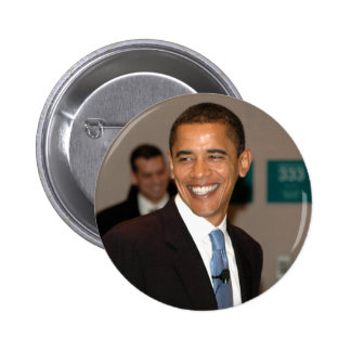 Sourires du Président Barack Obama Badges