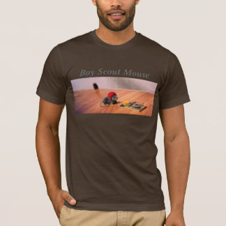 Souris de scout de garçon t-shirt