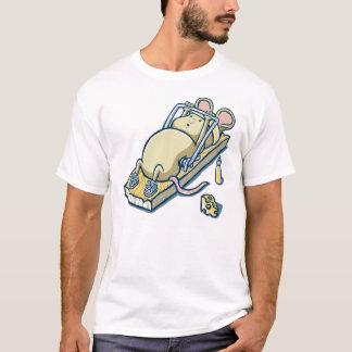 souris exerçant des conceptions drôles de T-shirt