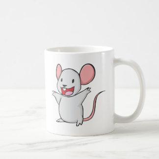 Souris mignonne tasse à café