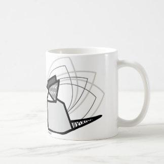 Souris origami mug