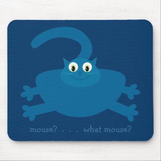 Souris Quelle souris Chat bleu de graisse de b Tapis De Souris