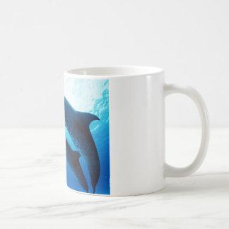 Sous la mer mug