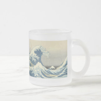 Sous la vague de Kanagawa Hokusai tasse 1830-32