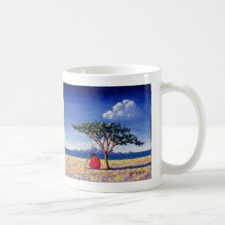 Sous l'arbre 1991 d'acacia mug