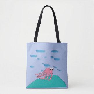 Sous le sac fourre-tout à mer