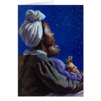 Sous les bleus de minuit 2003 carte de vœux