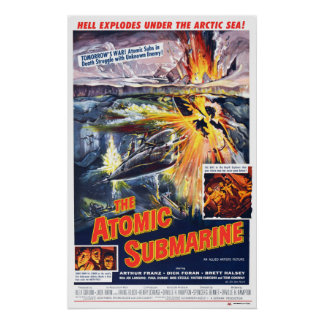 Sous-marin atomique posters
