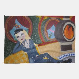Sous-marin de Steampunk - Jules Vern inspiré Serviettes Pour Les Mains