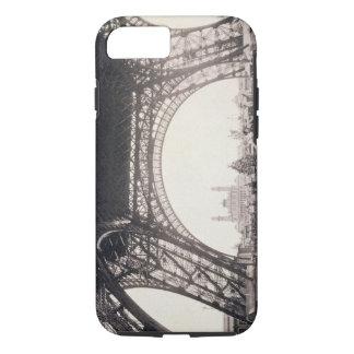 """Sous Tour Eiffel, avant de monter, de """"L Coque iPhone 8/7"""
