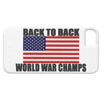 Soutenez 2 le cas arrière de l'iPhone 5 de drapeau Coques Case-Mate iPhone 5