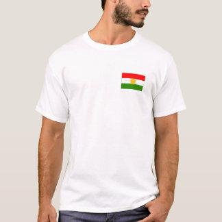 Soutenez le T-shirt de Kurdes grand