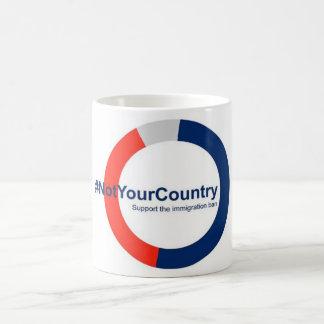 Soutenez l'interdiction d'immigration mug