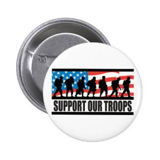 Soutenez nos troupes badge