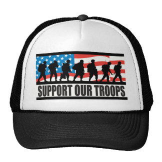 Soutenez nos troupes casquettes de camionneur