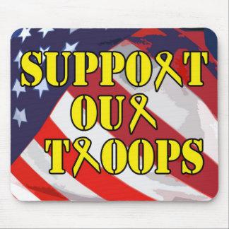 Soutenez nos troupes Mousepad Tapis De Souris