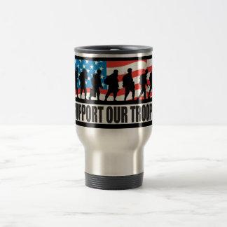 Soutenez nos troupes mug de voyage