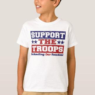 Soutenez nos troupes t-shirt