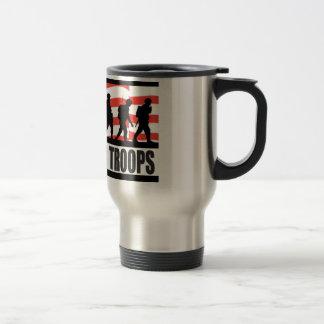 Soutenez nos troupes tasse à café