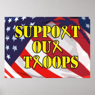 Soutenez notre affiche de troupes posters